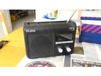 Pure One Flow DAB/FM/Internet Radio - works fine; has external surface issues