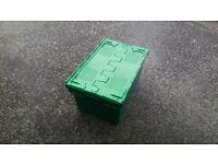 Heavy duty plastic storage Boxes