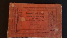 books - Trumpet & Bugle Sounds for the Army