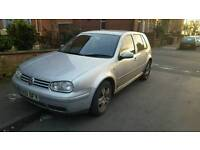 VW Golf 2.0 GTI, drives great, brilliant loud exhaust, sports seats, price lowered (see description)