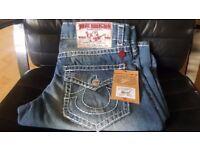 True Religion Jeans ! Sizes : W36 / W34