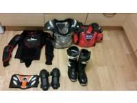 Kids motocross gear
