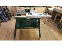 Record power router table RPMS-R-MK2