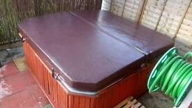 Spa form hot tub
