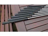 PING i5 irons,regular shafts.