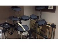 Electronic drums kit