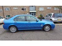 2004 blue rover 45 club se 1.4