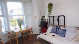 A Bright One Bedroom Maisonette with Private Garden situated within minutes of Train Links