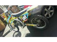 Fully rebuilt rmz 250 2008