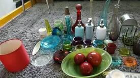 Job lot of home decoration/vases/ ornaments