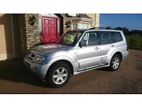 06 mitsubishi shogun 3.2 DID Warrior 7 seater