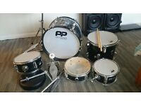 youths drum kit