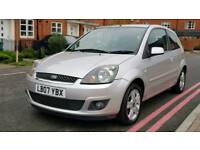 2007 Ford Fiesta 1.25 Zetec 3Dr+Service History+Low mileage+Drives Well