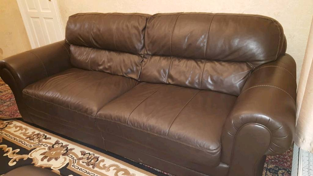 Beautiful Leather Sofas For