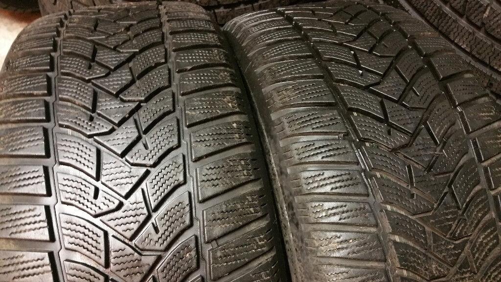 225 50 17 2 x tyres DUNLOP Winter Sport 5