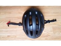 Black helmet size 65-61cm - in mint condition