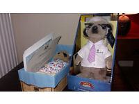 Meerkat Toys As New - Sergei and Baby Oleg with certificate - compare the meerkat / market
