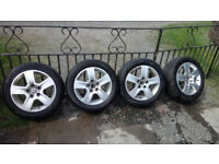 AUDI A4 B6 ALLOY WHEELS. FIT VW VOLKSWAGEN CAMPERVANS.