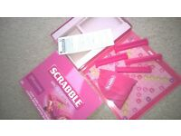 Pink Scrabble Special Edition Board Game
