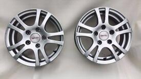 14 inch 'Team Dynamics' Wheels (2)