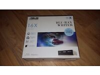 """ASUS 16X Blu-Ray Disc Drive 3.5"""" M-disc Support, BDXL Support 128GB"""