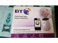 Bt smart audio baby monitor. Spairs or repairs