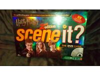 Harry Potter 2nd Edition Scene It Board Game *NEW* Still Sealed
