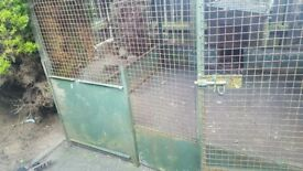 Price reduction.large dog pen or chicken house for sale.
