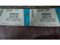 2 x Isle of White Festival weekend tickets + camping