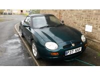 MGF 1996 MOT failure, good runner, many spares