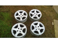 Peugeot Cyclone Alloy Wheels (306)