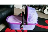 ICANDY P2 CARRY COT VINYLED!!