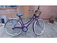 Vintage classic Raleigh Bike Chiltern ladies elegant quality Made in England