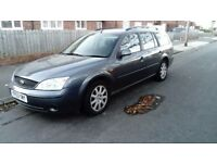 2003 53 FORD MONDEO GRAPHITE ESTATE 2.0 TDCI MOT MAY 2018 IMMACULATE THROUGHOUT £495