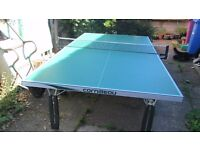 Table Tennis table, Cornilleau 240 - full sized - indoor and outdoor, little used