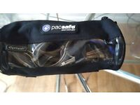 Motorcycle lock. Pac safe