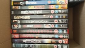 25 dvds fab condition mixture of genres