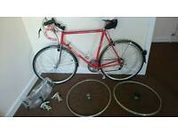 Job lot of bikes and spairs
