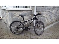 Specialised hard rock mountain bike