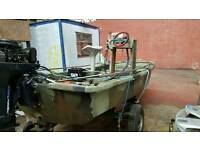 13ft delquay dory and NON running 50 hp evinrude