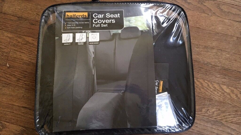 Halfords car seat covers, full set, nd new in packaging, great ...