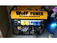 Wolf power WP7500E generator