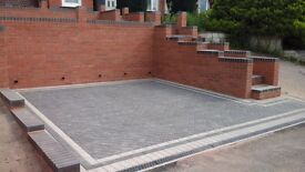 Driveways and landscapes-block paving, fencing, gravel drive, slabbing and patios. FREE QUOTES