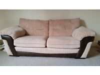 DFS 3 Seater Fabric Sofa, Very good condition and clean. £250