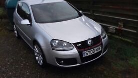 VW golf gti 2l fxi turbo silver
