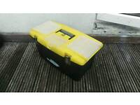 Stanley Large toolbox in good condition, spacious and durable.