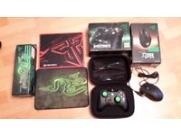 Gaming Stuff Razer Joystick mouse and more