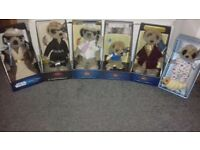 Meerkat collectable toys.