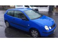 2002 VW POLO 1.2 IN GOOD CONDITION WITH MOT 79miles BARGAIN