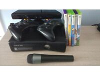 X box 360 250gb with accessories